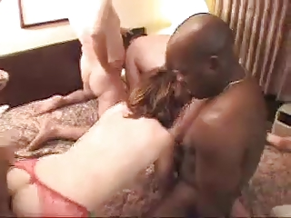 hawt squirting milf banged hard by black chaps -