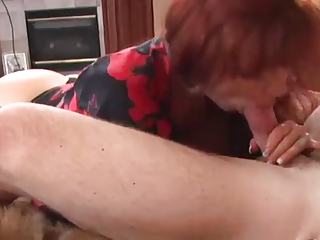 sexy large tit older anal