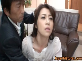 excited japanese aged sweethearts sucking