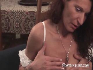 mature babe woking her lewd body