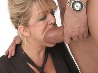admirable looking breasty wife got double screwed