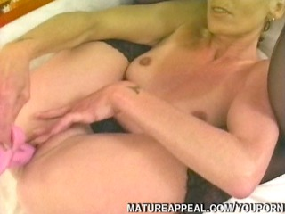 mature golden-haired anal screwed