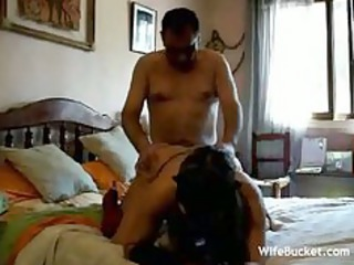 non-professional wife drilled everywhere